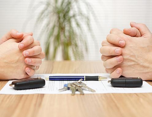 procédure de divorce